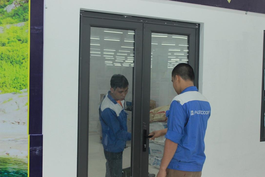 cửa nhôm Xingfa tại Phú Thọ