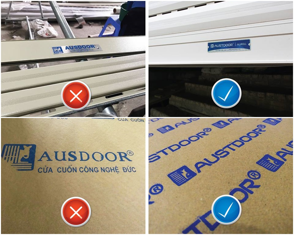 cửa cuốn Austdoor tại Phú Thọ